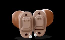 Desenvolvido para adaptar-se perfeitamente à anatomia do ouvido, tanto quanto ao seu grau de perda auditiva.